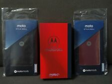 Motorola Moto Z3 Play 4G Gsm Unlocked 32Gb Xt1929-4 w/ 2 Free Cases, Deep Indigo