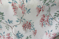 Whisteria Crowson Floal Cotton  Curtain/Craft Fabric