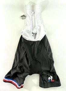 Lycra Black/Red/White Cycling Compression, Quick Dry Bib Shorts Sz XL NWT
