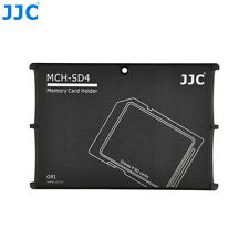 "JJC 0.2"" Ultra Slim Credit Card Size Compact Wallet Memory Card Holder for 4 SD"