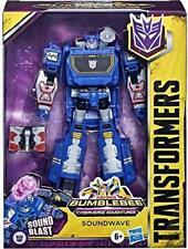 Transformers Bumblebee Cyberverse Adventures Deluxe Soundwave Action Figure