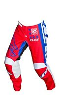 NEW MX Gear-JT RACING USA  Flex ExBox Pants, Red/Blue/White, ADULT