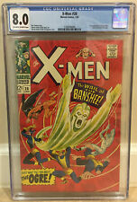 X-MEN #28 CGC 8.0 1ST APPEARANCE OF THE BANSHEE (SEAN CASSIDY) & THE OGRE