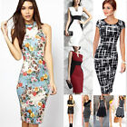 Business Women Career Bodycon Evening Cocktail Party Wear to Work Office Dress