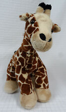 "BUILD A BEAR Brown BLACK Giraffe 2012 Safari JUNGLE 17"" STUFFED Plush BAB Clean"