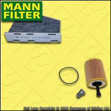 SERVICE KIT for VW PASSAT (3C) 2.0 TDI MANN OIL CABIN FILTERS (2005-2010)