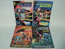 Captain Johner and the Aliens 1-2 + Captain Venture 1-2 SET Comics (s 10753)
