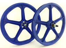 """9 Tooth Cassette Skyway 20"""" TUFF WHEELS II BMX sealed Mags BLUE Made in USA"""