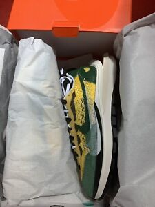 Nike Vaporwaffle Sacai Tour Yellow/Green-Sail Size 7.5 In-Hand DS Ready To Ship
