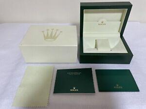 GENUINE ROLEX watch box wave 31.00.64 Medium YACHT-Master Booklet ENG 95167