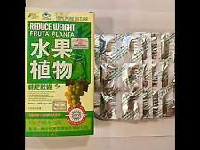 2-Boxes 100% Authentic FRUTA natural fast slimming Weight Loss 30 Capsules