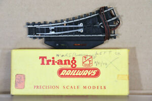 TRIANG T162 TT GAUGE MARK 1 ELECTRIC LEFT HAND POINT BOXED oa