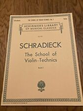 Schradieck - The School of Violin-Technics  Bk. 1