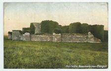 The Castle Beaumaris near Bangor Wales Postcard Hartmann Antique Unused UK