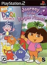 Dora the Explorer - Journey to the Purple Planet (PlayStation 2, 2005) Rated: EC