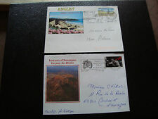 FRANCE - 2 enveloppes 1992 1996 (anglet/puy de dome) (cy50) french