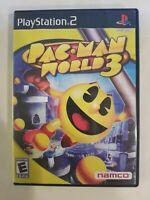 Pac-Man World 3 PS2 (Sony PlayStation 2, 2005) COMPLETE FREE S/H