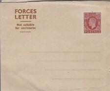 Great Britain Force Letter Sheet Michel FLFS, corner bend   *d