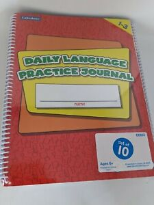 10 Pack!!!! Daily Language Practice Journal Grades 1-3 (Lakeshore) NEW!!!