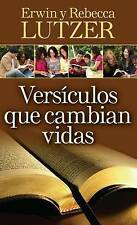 Versículos que cambian vidas: El poder transformador de la Palabra de Dios (Spa