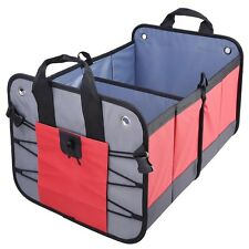 Durable Trunk Organizer Foldable Collapsible Storage Box Bag Auto Car Cargo SUV