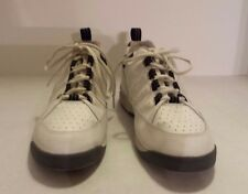 Brunswick Mens Size 8 Bowling Shoes White Black Gray Phantom II 2