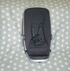 Quinny Buzz Seat Sub Base Unit Black Complete with Straps & XL Memory Foam Pad