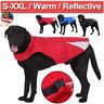 Pet Winter Coat Dog Cat Fleece Warm Reflective Jacket Protective Vest Clothes US