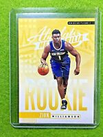 ZION WILLIAMSON ROOKIE CARD JERSEY #1 PELICANS RC 2019-20 Panini Absolute rookie