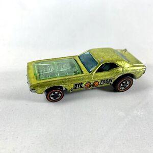1970 Hot Wheels Redline BYE-FOCAL Lime/Antifreeze Green