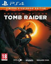 Shadow Of The Tomb Raider Limited Steelbook Edition & 3 Art Cards PS4 * SEALED *