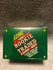 1991 SCORE Rookie Traded Card Set 110 Players 10 World Series 11 Motiontrivi