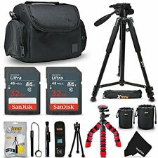 Accessories Kit f/ Sony Alpha A6500 A6300 A6000 A55 A9,