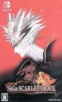 SaGa: Scarlet Grace Ambitions Nintendo Switch Japan Version