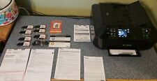 Canon Pixma MX922 Wireless Printer w/ Ink Print Tested Excellent