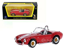 1964 SHELBY COBRA 427 S/C RED 1/43 DIECAST CAR MODEL BY ROAD SIGNATURE 94227