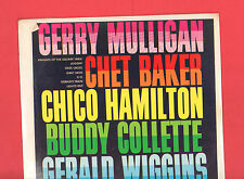 Gerry Mulligan, Chet Baker, Chico Hamilton & Others, Crown Records CLP 5289, NEW