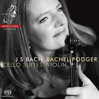 Rachel Podger - JS Bach: Cello Suites (NEW 2xSACD)