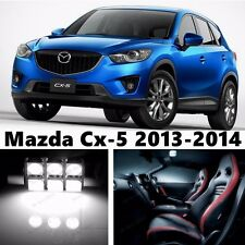 12pcs LED Xenon White Light Interior Package Kit for Mazda Cx-5 2013-2014