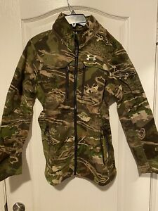 Under Armour Women's Ridge Reaper Hunting Scent Control Wool Jacket  SZ Small