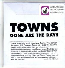 (CS219) Towns, Gone are the Days - 2011 DJ CD