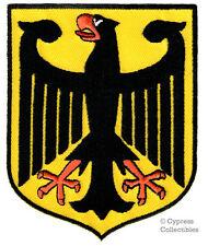 GERMAN EAGLE embroidered PATCH GERMANY iron-on Bundesadler Aufnäher Deutschland