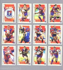 2003  NEWCASTLE  KNIGHTS   RUGBY LEAGUE CARDS