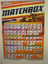 MATCHBOX 2010 COLLECTOR POSTER BN