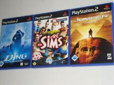 PLAYSTATION 2 / PS2 SPIELE JUMPER DIE SIMS DAS DING ALLE KOMPLETT MIT ANLEITUNG