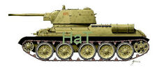 Armourfast 99022 1/72 WWII Russian T-34/76 1943 Tank (2 Models)