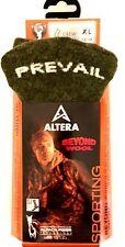 "ALTERA SPORTING ""PREVAIL"" 1-PR ALPACA+1% SILVER CREW SOCKS OLIVE FIT 12-14 SHOE"