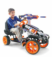 New Hauck Nerf Battle Racer Kids Go Kart Ride On Pedal Car Go Cart Pedaling Car