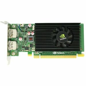 nVidia Quadro NVS 310 512MB PCI-e Dual 2x DisplayPort Low Profile Graphics Card