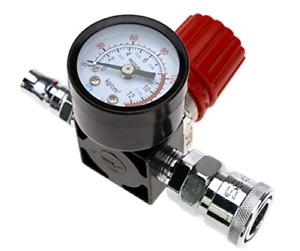 """Air Compressor 1/4"""" Pressure Regulator Gauge 140PSI Control Valve 240V"""